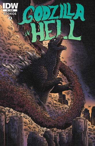 GODZILLA IN HELL Issue 1 CVR A Alt w Icon