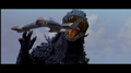 Godzilla tries to eat Griffon