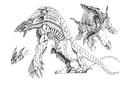 Concept Art - Godzilla 2000 Millennium - Orga 99