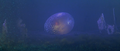 Godzilla vs. Megaguirus - The Meganulon egg starts hatching in the sewers