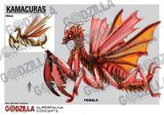 Godzilla Heritage - Kamacurus