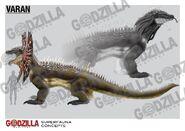 Godzilla Heritage - Varan