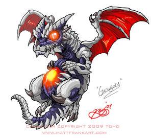 Godzilla Neo GARUGARU by KaijuSamurai
