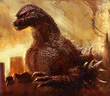 Awesome Godzilla Art