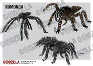 Godzilla Heritage - Kumonga