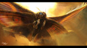 Mothra protector of earth by blackmatter234-d7zp0rl