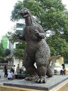 Godzilla statue tokyo