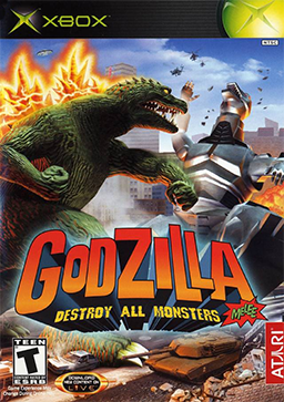 File:Godzilla - Destroy All Monsters Melee Coverart.png