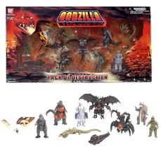 Godzilla pack of dest boxed disp