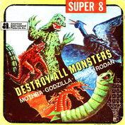 Destroy All Monsters super 8