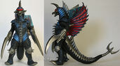Bandai Japan 2004 Movie Monster Series - Gigan 2004