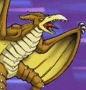 Gojira Kaiju Dairantou Advance - Battle Sprites - Rodan