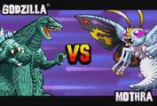 Gojira Godzilla Domination - Godzilla VS Mothra