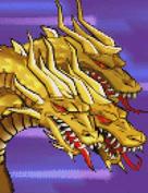 Gojira Kaiju Dairantou Advance - Battle Sprites - King Ghidorah