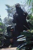 Godzilla and Little G