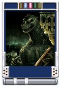 Trading Battle 1st Generation Godzilla