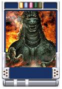 Trading Battle 4th Generation Godzilla