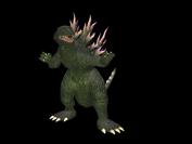 GDAMM Artwork - Godzilla 2000
