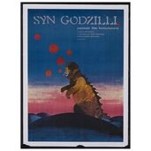 Godzilla Movie Posters - Son of Godzilla -Polish-