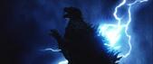 Godzilla X MechaGodzilla - Godzilla Being Struck By Lightning (1)