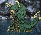 Gigamoth larva
