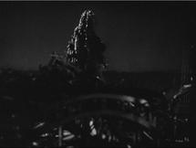 Godzilla leaves Station Train