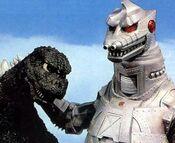 MechaGodzilla 1 Necks Godzilla