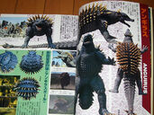 Final Wars Anguirus Magazine