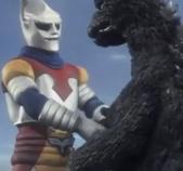 Godzilla vs. Megalon 4 - Jet Jaguar Meets Godzilla