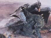 Ghidorah the Three-Headed Monster - Godzilla and Rodan