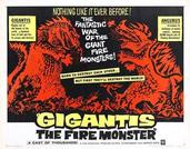 Godzilla Movie Posters - Godzilla Raids Again -English Horizontal-