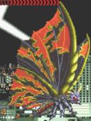 Godzilla Arcade Game - Battra Imago