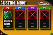 Gojira Godzilla Domination - Custom Mode