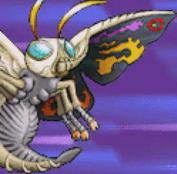 Gojira Kaiju Dairantou Advance - Battle Sprites - Mothra
