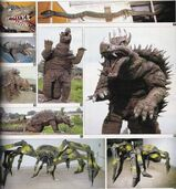 Surviving SoshingekiAnguirus, SoshingekiManda and ShodaiKumo