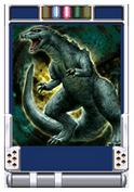 Trading Battle Godzilla Junior