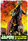 Godzilla Movie Posters - Gojira -Spanish-