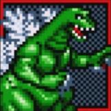 Gojira Godzilla Domination - Character Boxes - Godzilla
