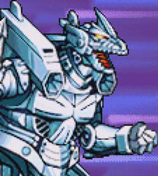 Gojira Kaiju Dairantou Advance - Battle Sprites - Kiryu