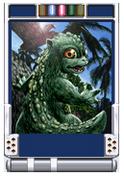 Trading Battle Little Godzilla
