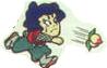 Goemon throwing