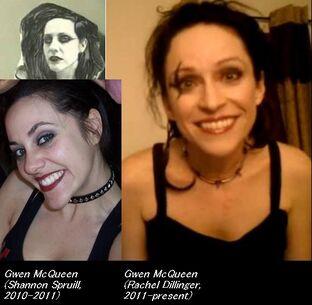 PRLGTROT cast comparison Gwen Spruill,Dillinger