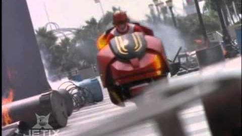 Power Rangers Lost Galaxy - Capsular Cycle-0