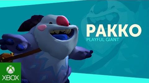 Gigantic Hero Spotlight - Pakko