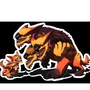 Creature render Cerberus Majoris