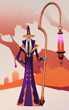 Skin Ezren Ghal Opulent Robes