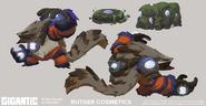 Rutger skin concept