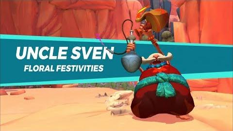 Gigantic Uncle Sven - Floral Festivities-0