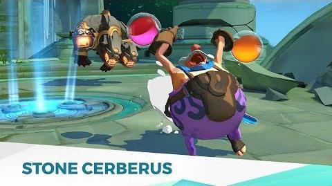 Gigantic Creature Preview - Stone Cerberus