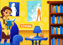 Athena's Bedroom.
